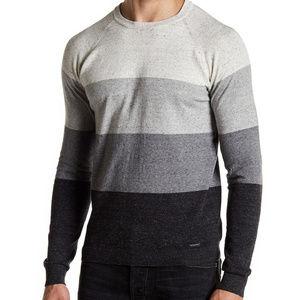 NWT Diesel Horizontal Stripe Sweater - XL
